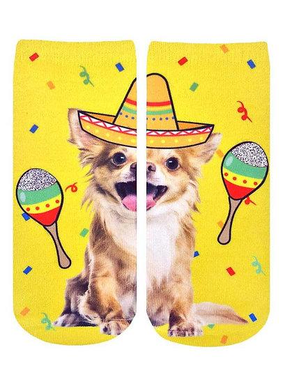 Fiesta Chihuahua Living Royal Ankle Socks