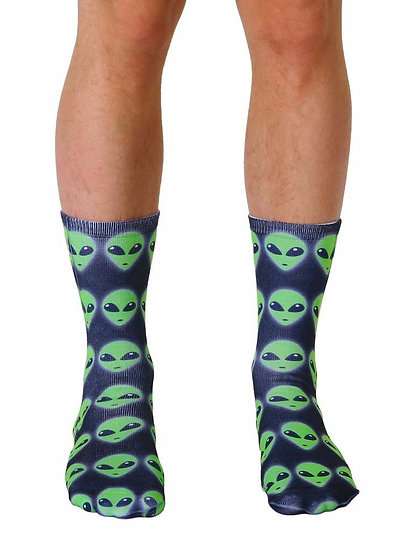 Alien Living Royal Crew Socks