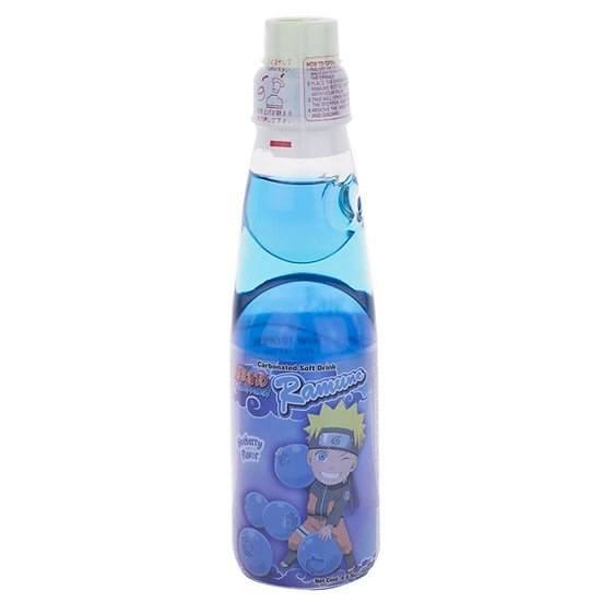 NARUTO Blueberry Ramune Drink