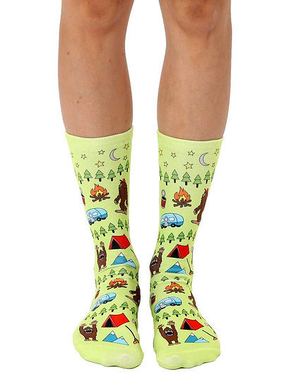 Big Foot Living Royal Crew Socks