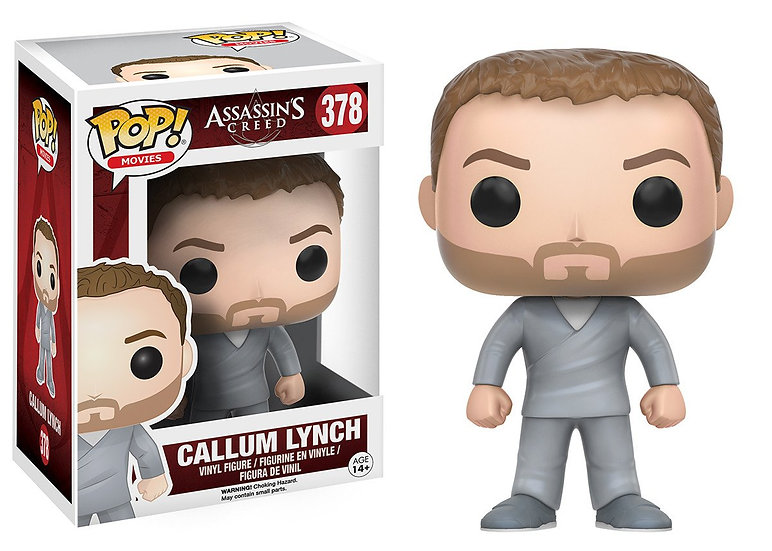 Funko Pop! Movies Assassin's Creed Callum Lynch 378