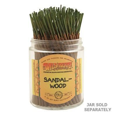 Sandalwood - Wild Berry Incense Shorties