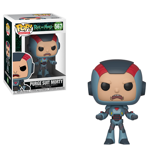 Funko POP! Animation Rick and Morty Purge Suit Morty 567