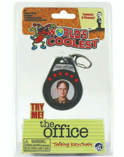 World's Smallest - The Office Talking Keychain: Dwight