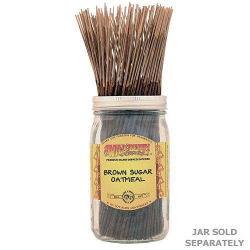 Brown Sugar Oatmeal - Wild Berry Incense 11""