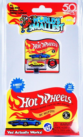 World's Smallest - Hot Wheels Series 4 D-Muscle 2015