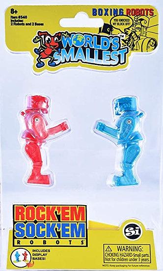 World's Smallest - Rock'Em Sock'Em Robots