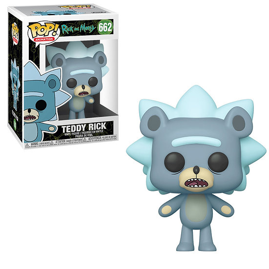 Funko POP! Animation Rick and Morty Teddy Rick 662