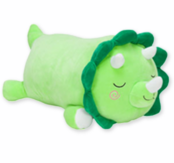 Squishmallow Cuddlers - Tristan The Triceratops