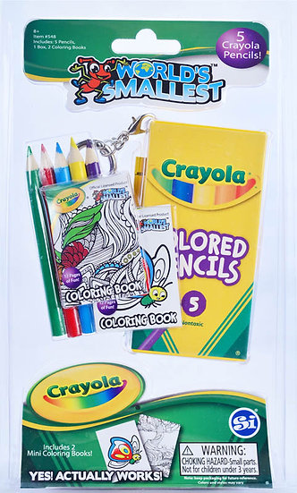 World's Smallest -Crayola Colored Pencil Set
