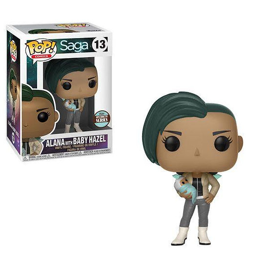 Funko POP! Comics Saga Alana with Baby Hazel 13