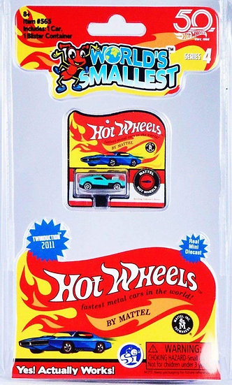 World's Smallest - Hot Wheels Series 4 Twinduction 2011