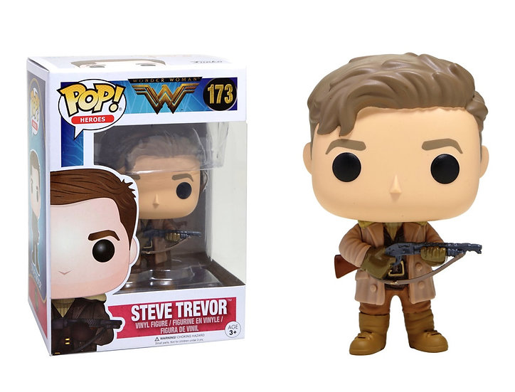 Funko POP! Movies DC Wonder Woman Movie Steve Trevor 173