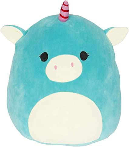 "Squishmallow - 5"" Ace The Turquoise Unicorn"