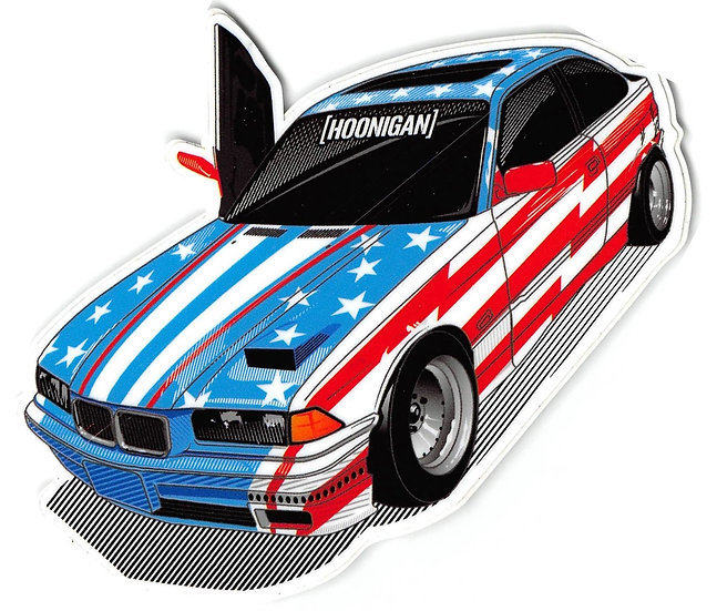 Hoonigan Car Sticker