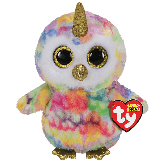 Enchanted The Owl Unicorn - TY Beanie Boo