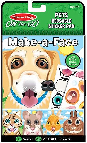 Make-A-Face Pets Melissa & Doug