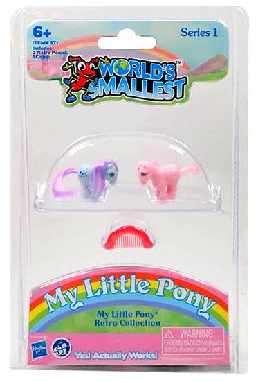 World's Smallest - My Little Pony Purple & Pink