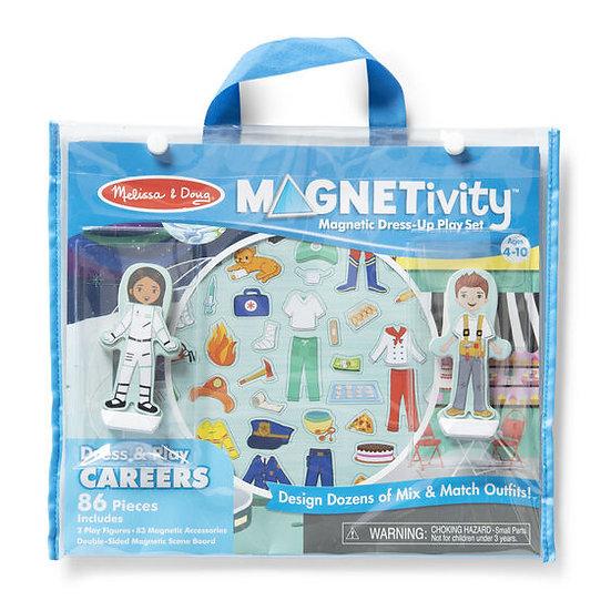 Magnetivity Dress & Play Careers Melissa & Doug