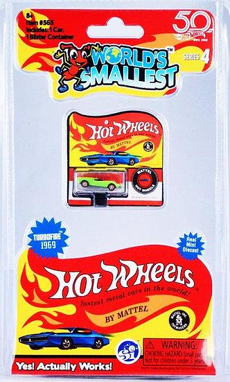 World's Smallest - Hot Wheels Series 4 Turbofire 1969
