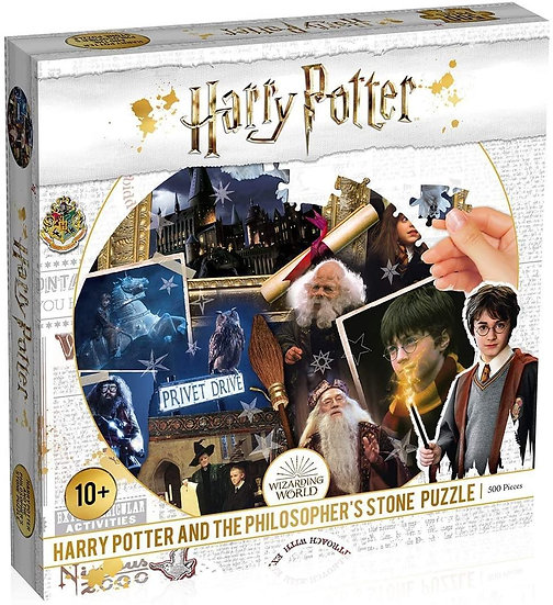 Harry Potter and The Philosophers Stone Puzzle 500pc