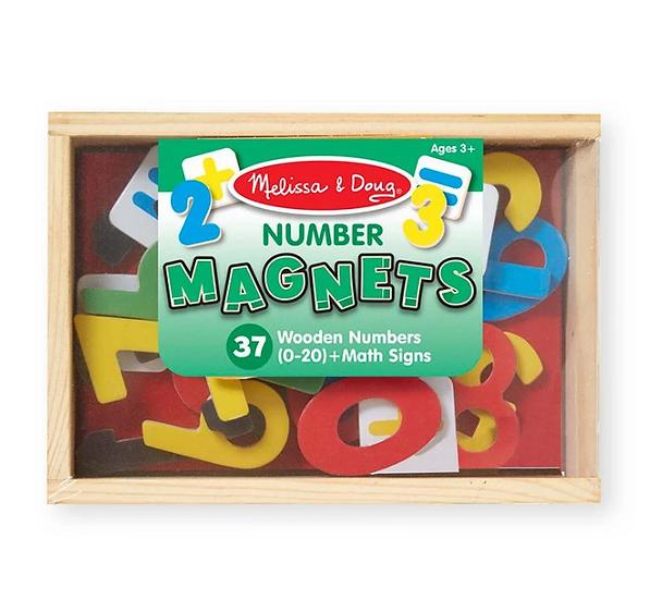 37 Wooden Alphabet Magnets Melissa & Doug