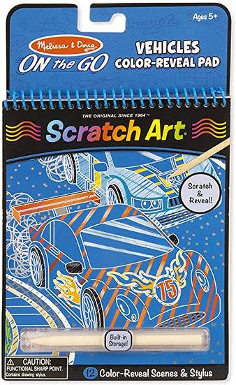 Scratch Art Vehicles Melissa & Doug