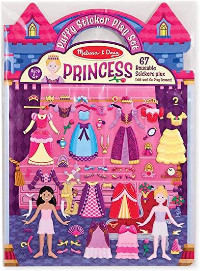 Puffy Sticker Play Set Princess Melissa & Doug