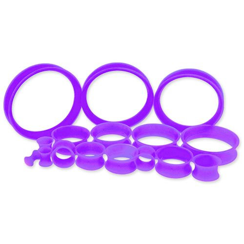 "Silicon Tunnels Purple 6g - 1"""