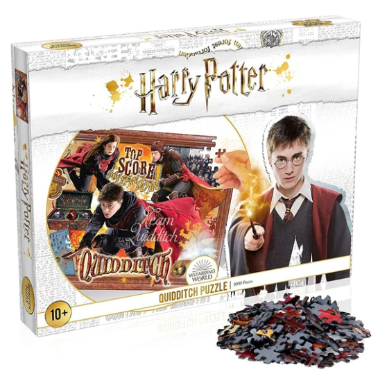 Harry Potter Quidditch Puzzle 1000pc