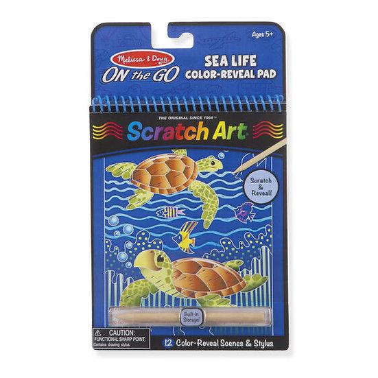 Scratch Art Sea Life Melissa & Doug
