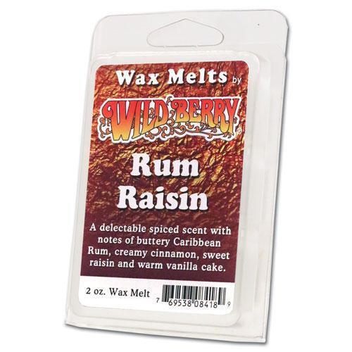 Rum Raisin - Wild Berry Wax Melts
