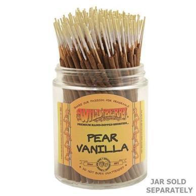 Pear Vanilla - Wild Berry Incense Shorties