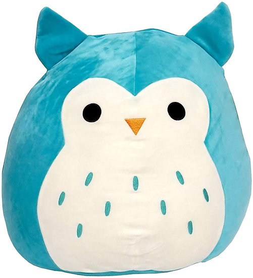 "Squishmallow - 7"" Winston The Teal Owl"