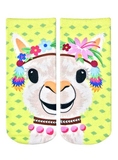 Party Llama Living Royal Ankle Socks