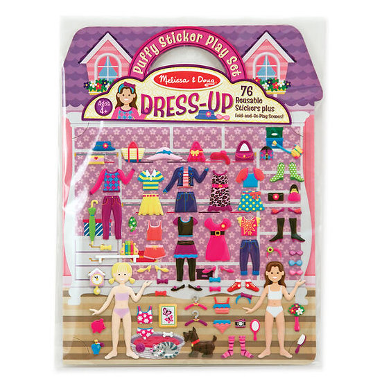 Puffy Sticker Play Set Dress Up Melissa & Doug