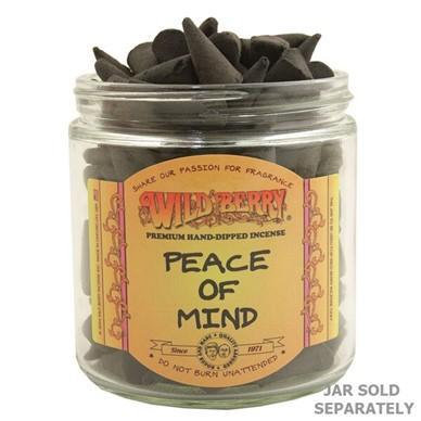 Peace Of Mind - Wildberry Incense Cone