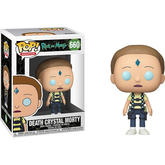 Funko POP! Animation Rick and Morty Death Crystal Morty 660