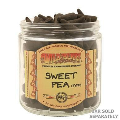 Sweet Pea - Wildberry Incense Cone