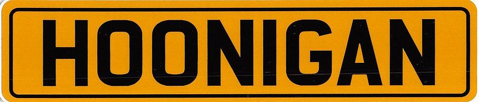 Hoonigan Sticker