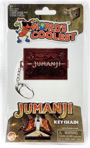 World's Coolest - Jumanji Game Keychain