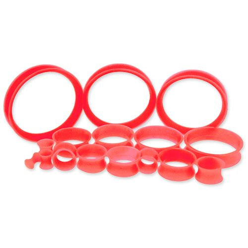 """Silicon Tunnels Red 6g - 1"""""""