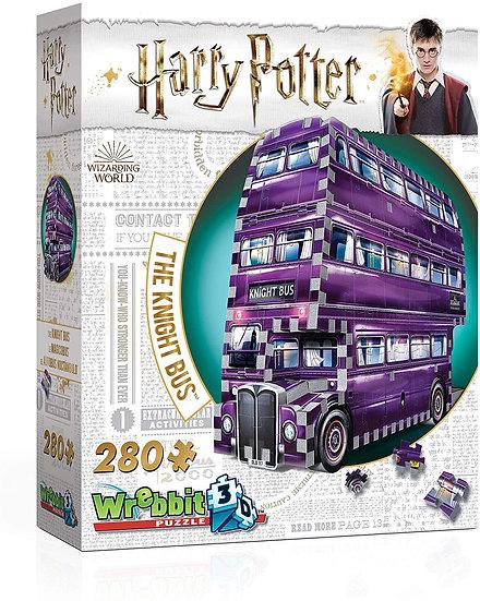 The Knight Bus - Harry Potter Wrebbit 3D Puzzle 280pc