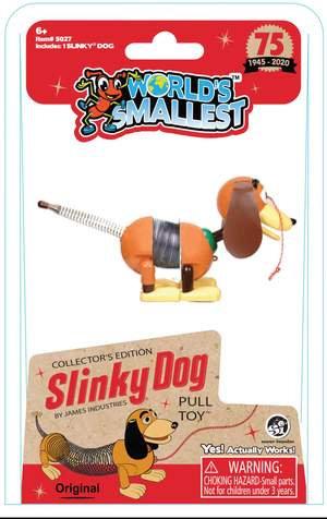 World's Smallest - Slinky Dog