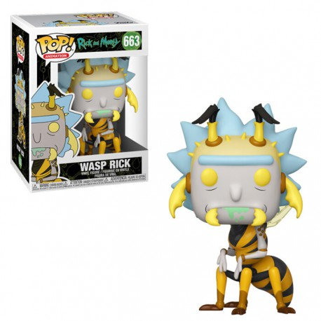 Funko POP! Animation Rick and Morty Wasp Rick 663