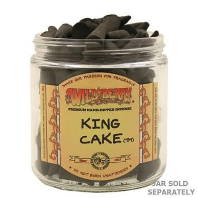King Cake - Wildberry Incense Cone