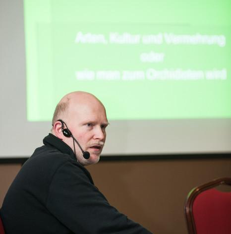 Hilmar Bauch, Guest Speaker 2018