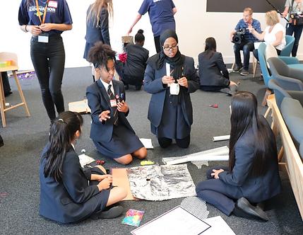 Design thinking Innovation hackathon kids children developing schools