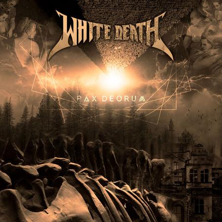 "White Death revela capa do novo EP, ""PAX DEORUM"""