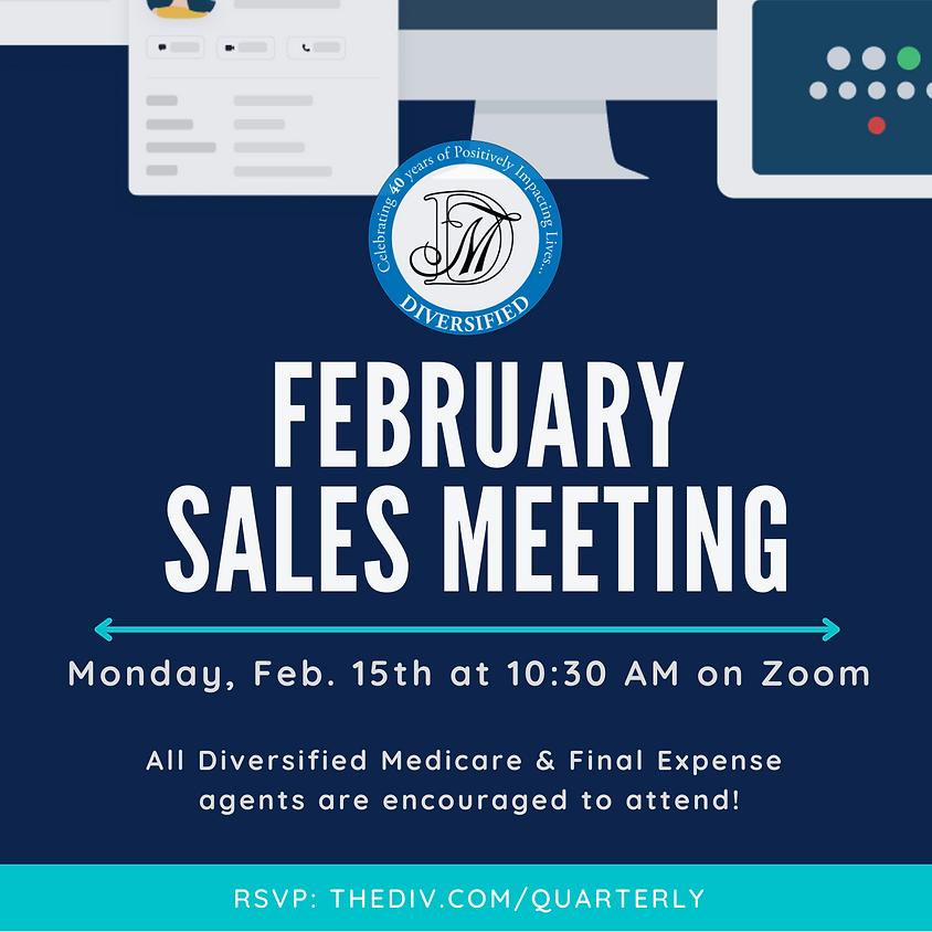 February Sales Meeting